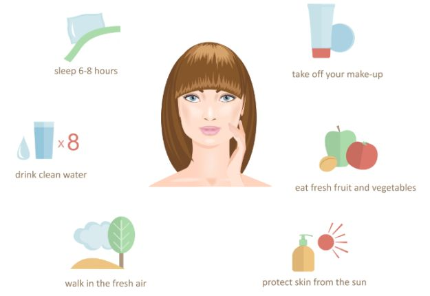 how to get beautiful skin naturally overnight